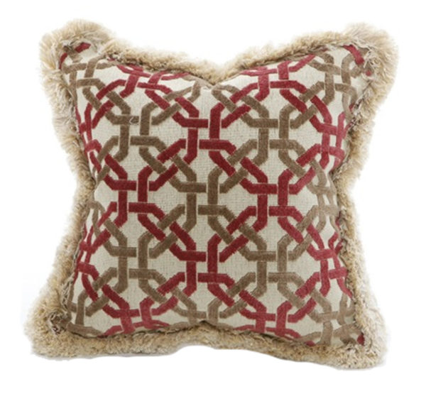 Chain pillow from the Kellogg Collection | @kelloggfurn