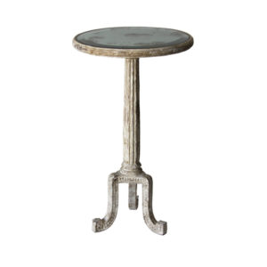 Fluted column occasional table from the Kellogg Collection | @kelloggfurn