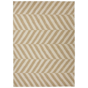 Beige White dhurrie rug from the Kellogg Collection | @kelloggfurn