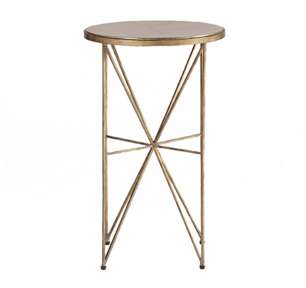 Nina faux horn occasional table from the Kellogg Collection   @kelloggfurn
