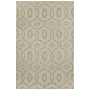 Moor bisque dhurrie rug from the Kellogg Collection | @kelloggfurn