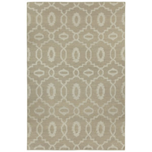 Moor stone dhurrie rug from the Kellogg Collection | @kelloggfurn
