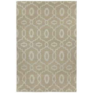 Moor stone dhurrie rug from the Kellogg Collection | @kelloggfurn