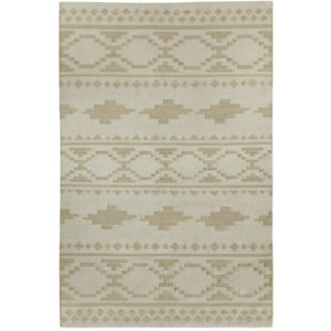 Tribe stone dhurrie rug from the Kellogg Collection | @kelloggfurn
