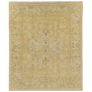 Oushak rug from the Kellogg Collection | @kelloggfurn