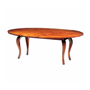 Oval drop leaf dining table from The Kellogg Collection | @kelloggfurn