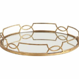 Mirrored cinch waist tray from the Kellogg Collection | @kelloggfurn