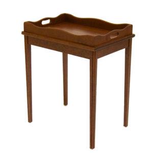 Cherry chairside table from @kelloggfurn