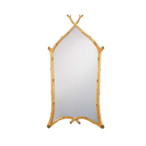 Gothic twig mirror from the Kellogg Collection | @kelloggfurn