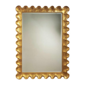 Wave motif mirror from the Kellogg Collection | @kelloggfurn