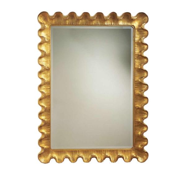 Wave motif mirror from the Kellogg Collection | @kelloggfurn