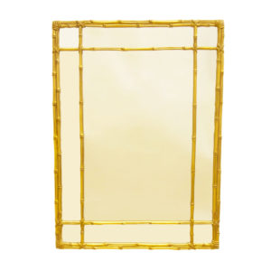 Classic bamboo style mirror from the Kellogg Collection | @kelloggfurn