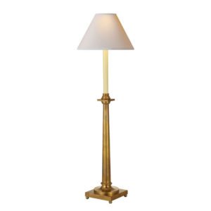 Swedish column table lamp by the Kellogg Collection | @kelloggfurn