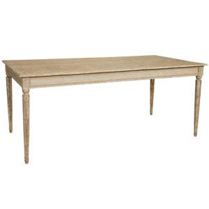 Gustavian dining table from the Kellogg Collection | @kelloggfurn