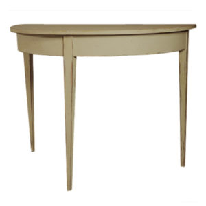 Swedish demilune console from the Kellogg Collection | @kelloggfurn