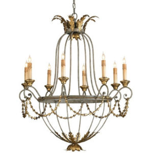 Elegance chandelier from the Kellogg Collection | @kelloggfurn