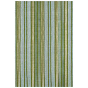 Caravan stripe woven cotton rug from the Kellogg Collection | @kelloggfurn