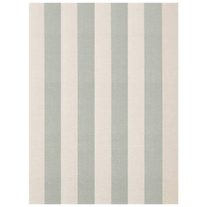 Yacht stripe woven cotton rug from the Kellogg Collection | @kelloggfurn