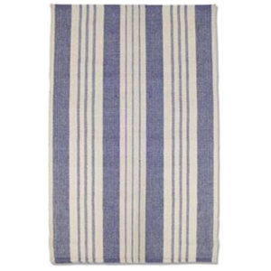 Staffordshire stripe woven cotton rug from the Kellogg Collection | @kelloggfurn