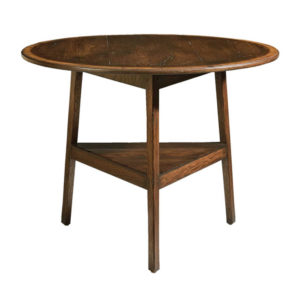 Oak cricket end table from the Kellogg Collection | @kelloggfurn