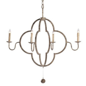 Lewis chandelier from the Kellogg Collection | @kelloggfurn