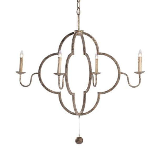 Lewis chandelier from the Kellogg Collection   @kelloggfurn