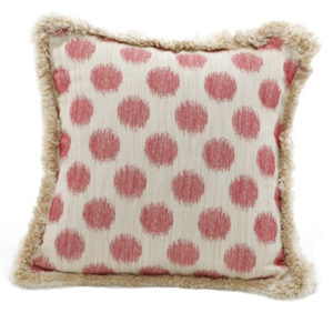 Red dots pillow from the Kellogg Collection | @kelloggfurn