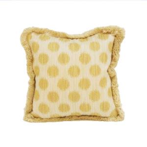 Dots pillow in lemon | @kelloggfurn