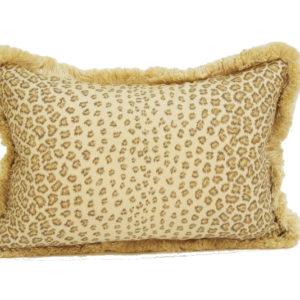 Leopard pillow in brown from @kelloggfurn