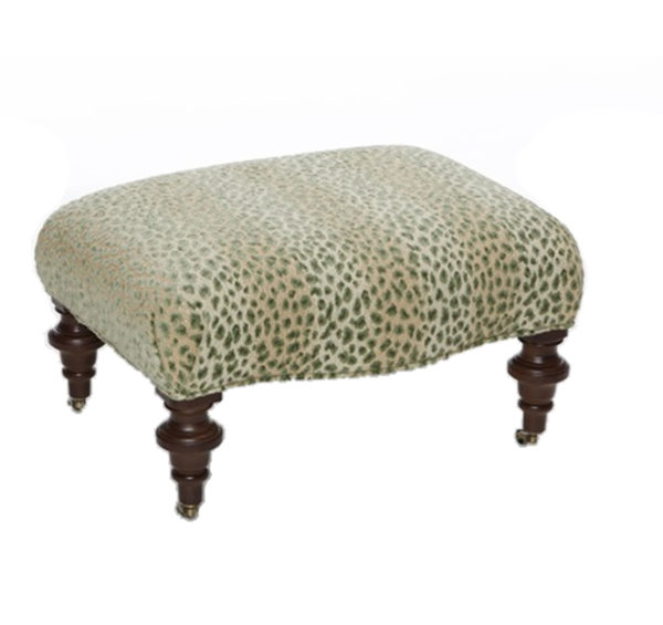 Bomber ottoman from the Kellogg Collection | @kelloggfurn