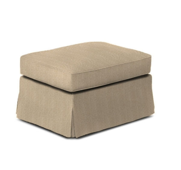 Margate ottoman from the Kellogg Collection | @kelloggfurn