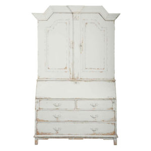 Gustavian secretary from the Kellogg Collection | @kelloggfurn