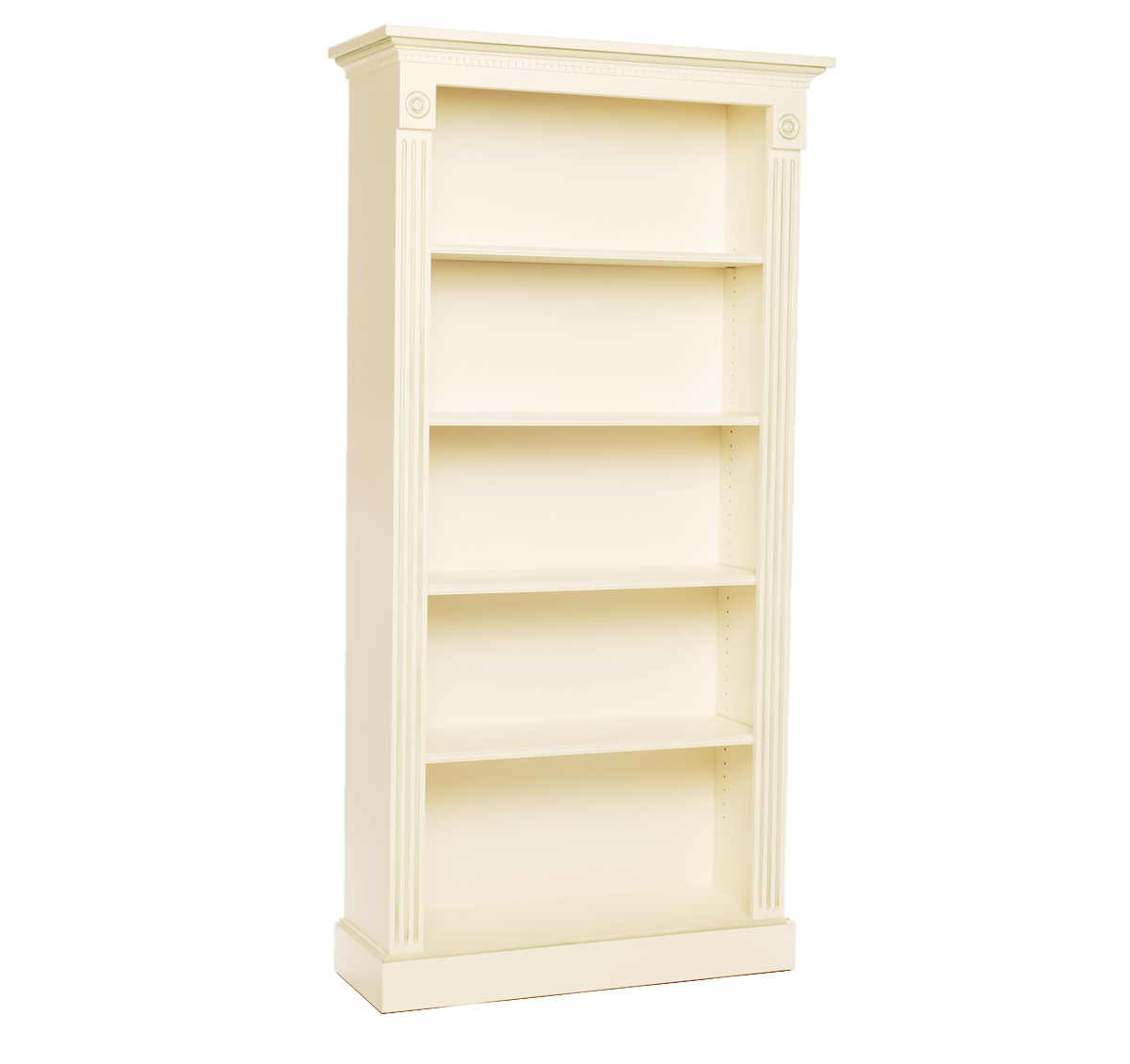 Tall Bookcase on Painted Sideboards And Buffets