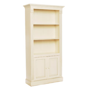 Tall two-door bookcase from the Kellogg Collection | @kelloggfurn