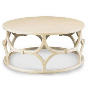 Wolfgang round cocktail table from the Kellogg Collection | @kelloggfurn