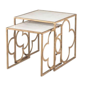 Set of two nesting tables from the Kellogg Collection | @kelloggfurn