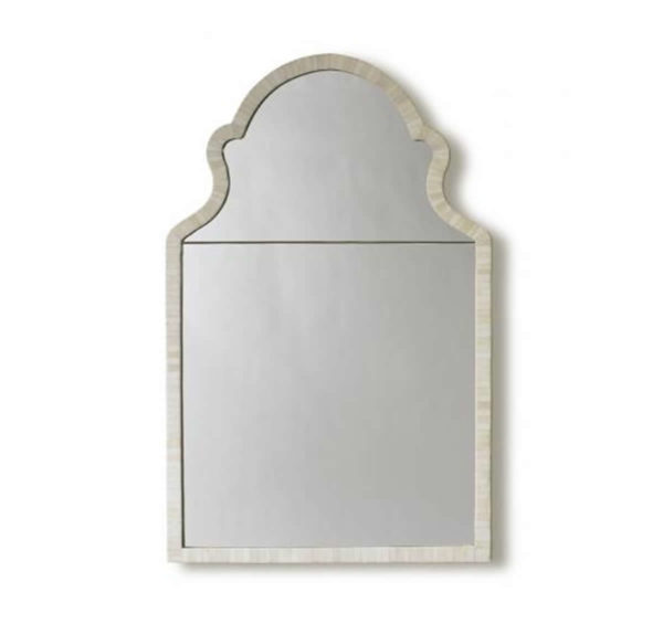 Faux bone Paris mirror from the Kellogg Collection | @kelloggfurn