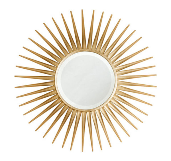 Modern starburst mirror from the Kellogg Collection | @kelloggfurn