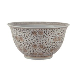Double Flower Bowl from the Kellogg Collection | @kelloggfurn
