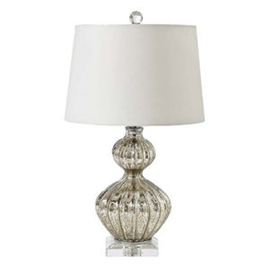 Antique mercury table lamp by the Kellogg Collection | @kelloggfurn