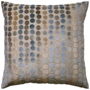 Pastel velvet dots pillow from the Kellogg Collection | @kelloggfurn