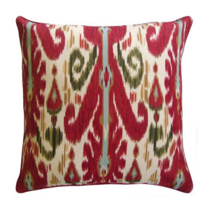 Ikat pillow from the Kellogg Collection | @kelloggfurn