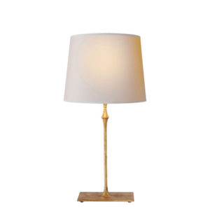 Gilded iron Dauphine table lamp by the Kellogg Collection | @kelloggfurn