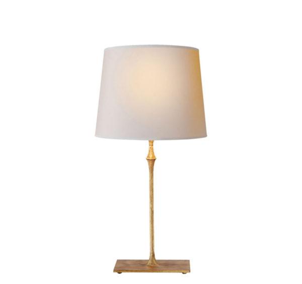 Gilded iron Dauphine table lamp by the Kellogg Collection   @kelloggfurn
