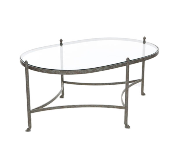 Kellogg oval cocktail table from the Kellogg Collection | @kelloggfurn
