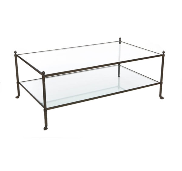 JC two tier cocktail table from the Kellogg Collection | @kelloggfurn