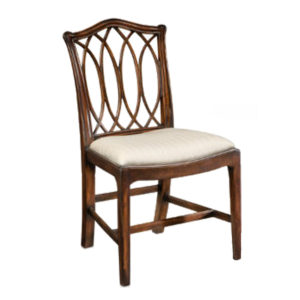 Chippendale side chair from @kelloggfurn