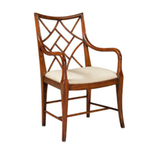 Fretwork armchair from @kelloggfurn