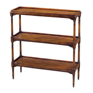 Three-tier console from the Kellogg Collection | @kelloggfurn
