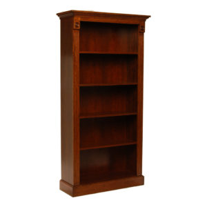 Tall cherry bookcase from the Kellogg Collection | @kelloggfurn